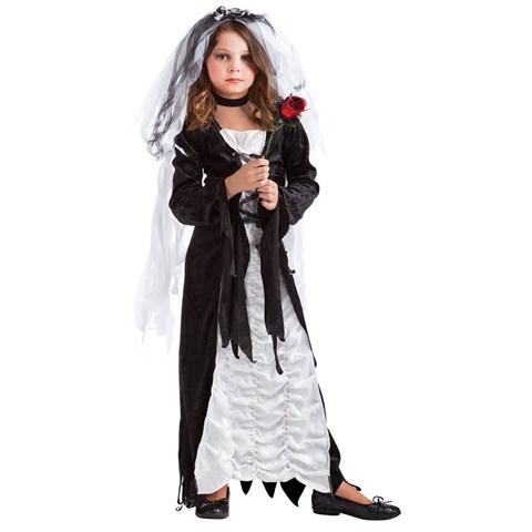 Coffin Bride Child Costume