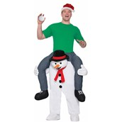 Cold Shoulders Snowman Ride On Costume