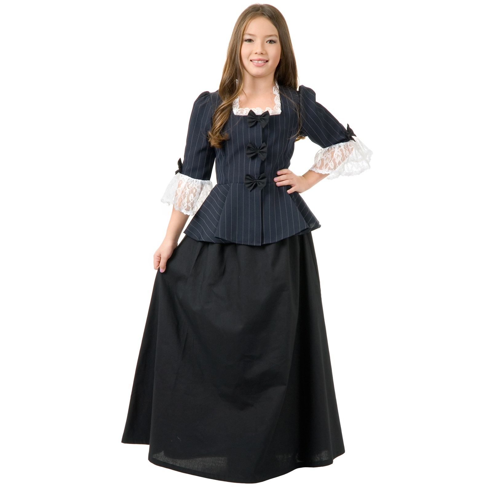 Colonial Girl Child Costume   BuyCostumes.com