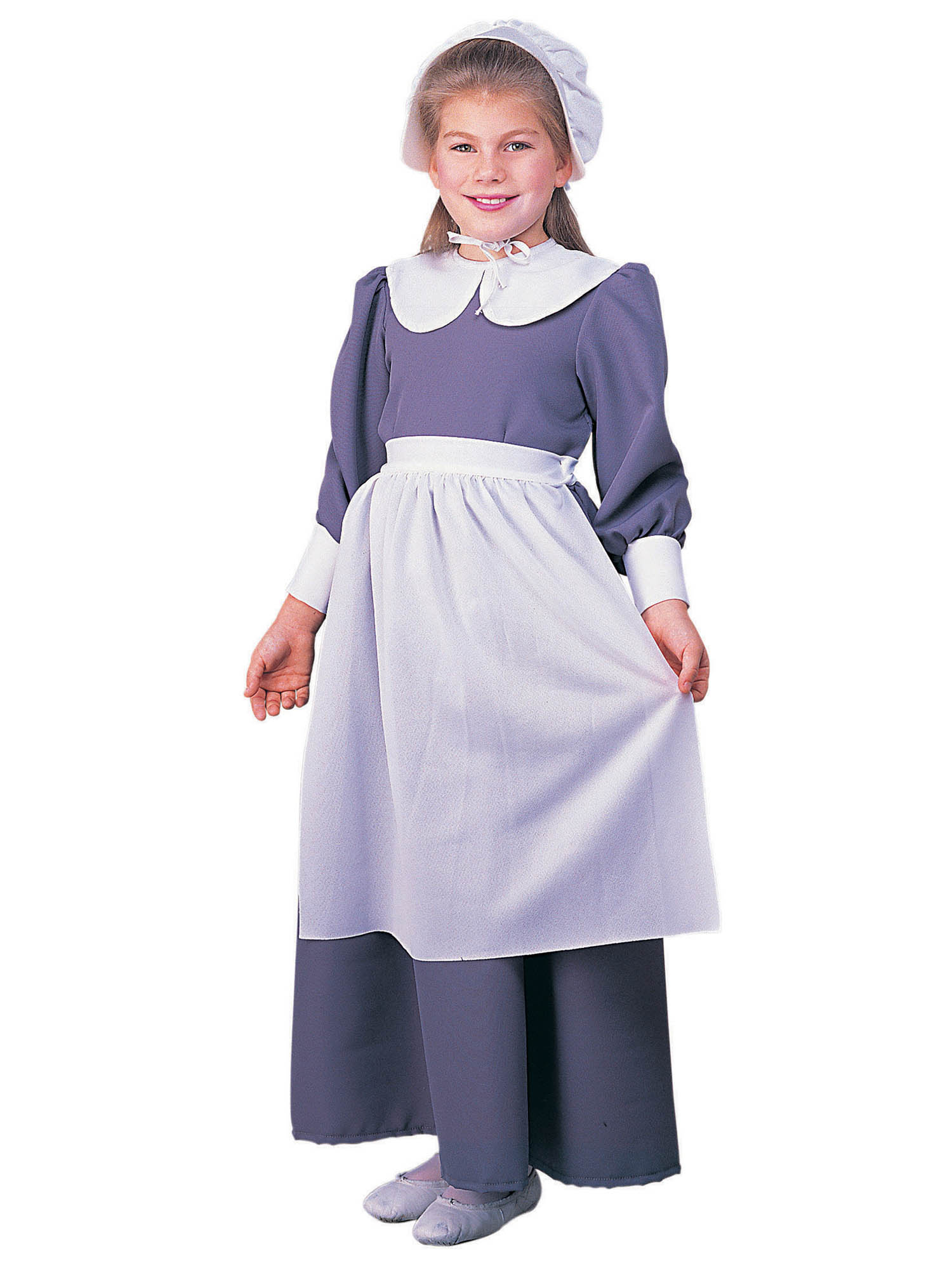 PIONEER GIRL CHILD PILGRIM PURITAN COLONIAL PRAIRIE VICTORIAN KIDS COSTUME