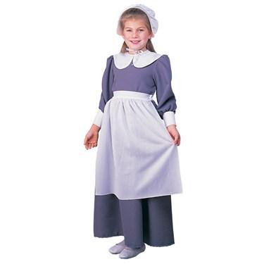 Colonial / Pilgrim Girl Child Costume