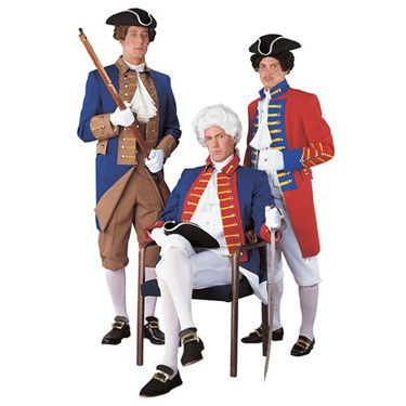 Colonial Soldier Regency Collection Adult Costume