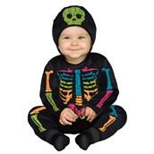 Color Bones Toddler Costume