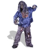 Complete Zombie Adult Plus Costume