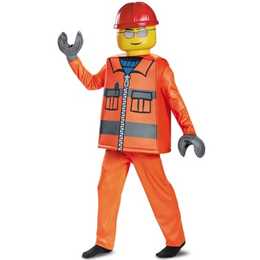 Construction Worker Deluxe Child Costume