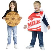 Cookies and Milk Costume For Toddlers