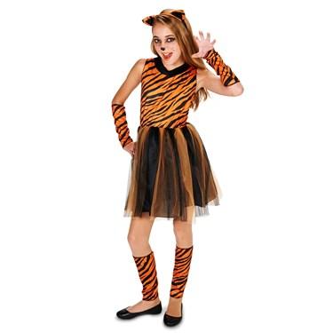 Cool Cat Tigeress Tween Costume