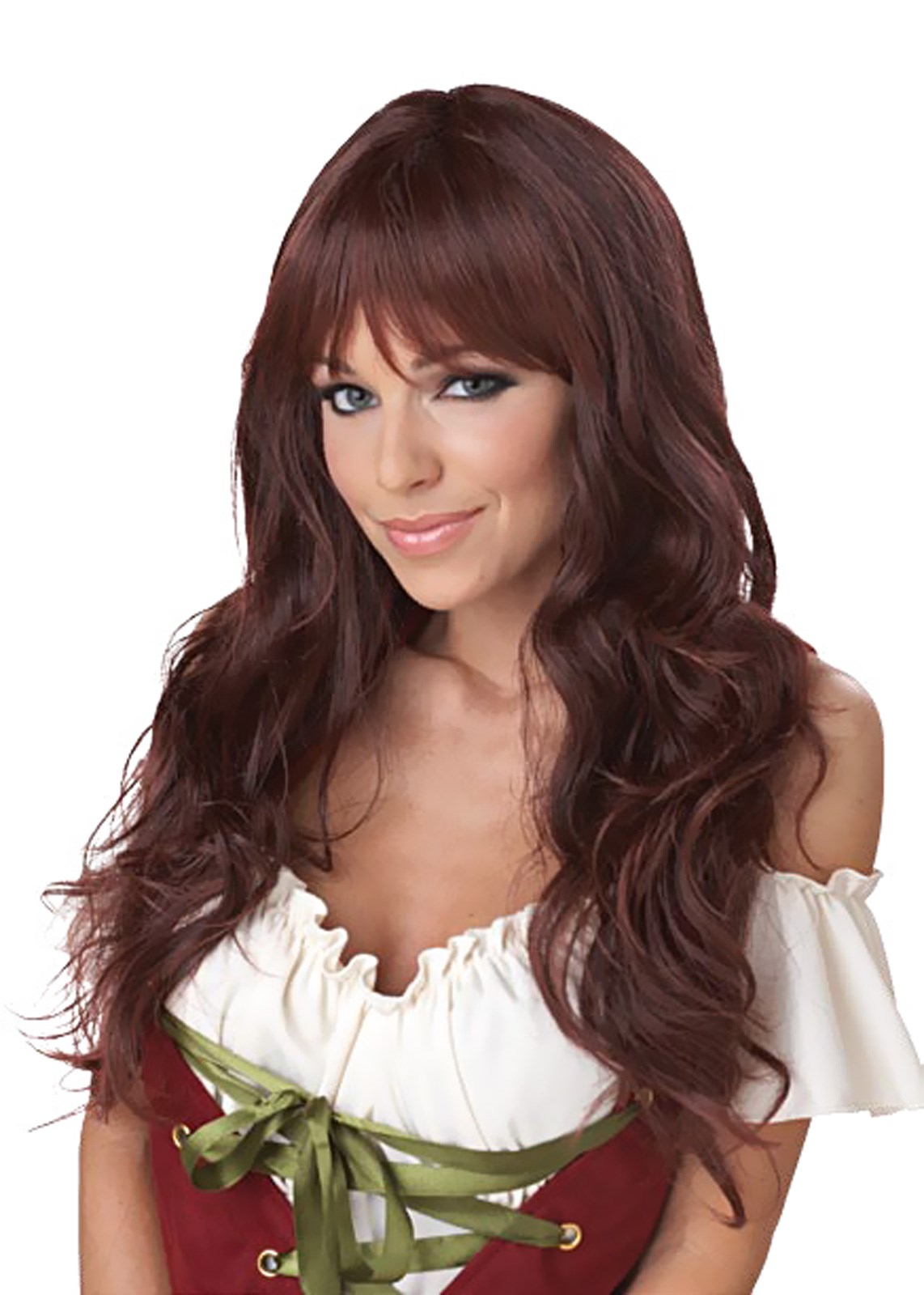 Coquette Brunette Adult Wig Buycostumes Com
