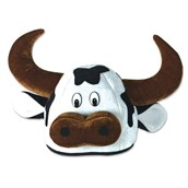 Cow Head Hat Adult