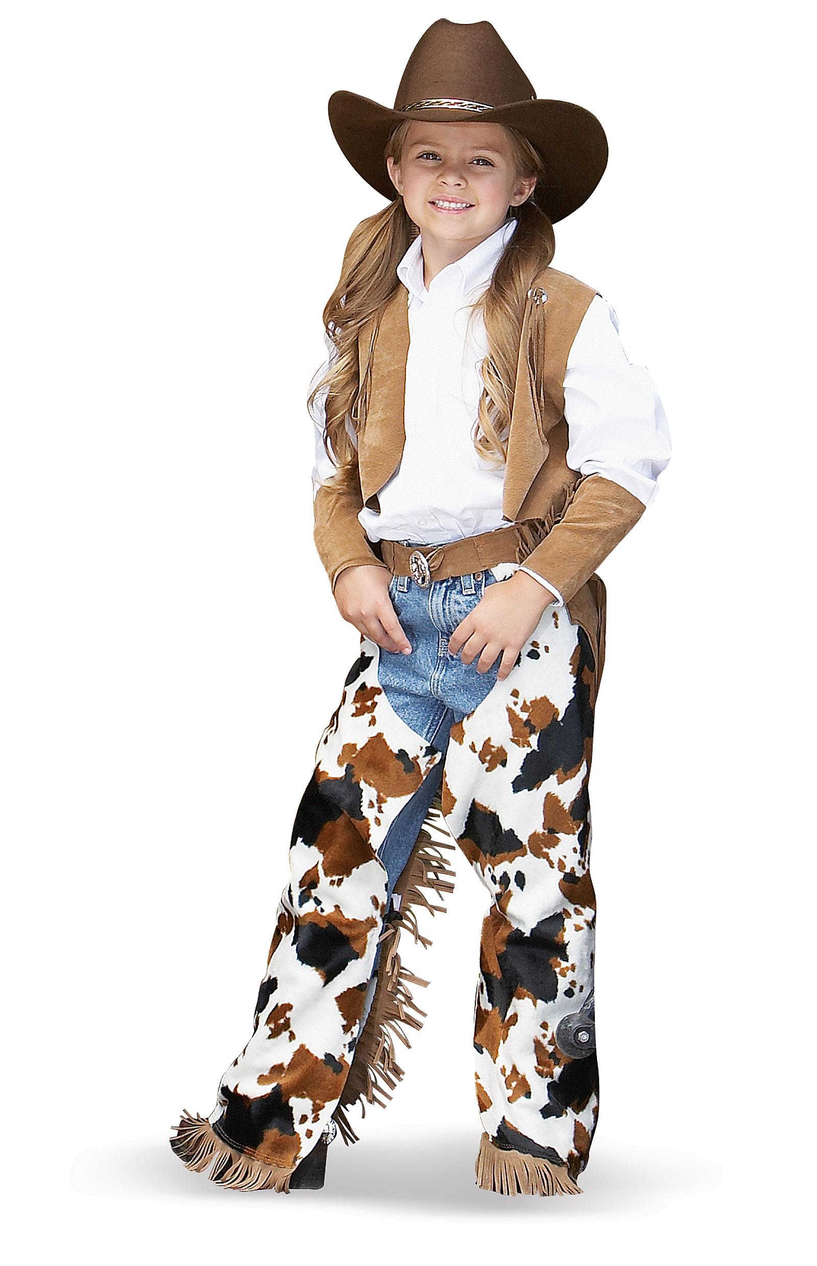 Girl Cowboy Costume Cowboy/cowgirl Child Costume