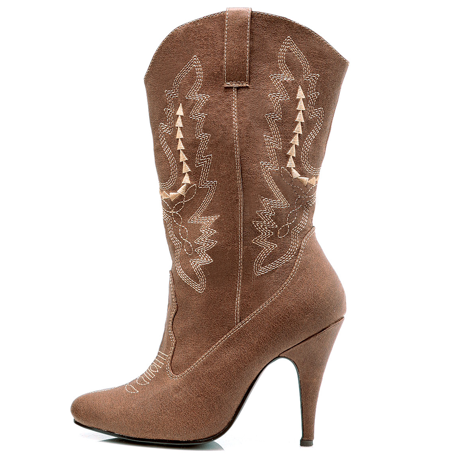 Cowgirl (Brown) Adult Boots | BuyCostumes.com