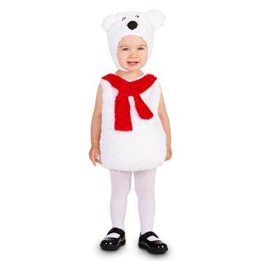 Cozy Polar Bear Child Costume