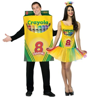 Crayola Adult Couples Costume