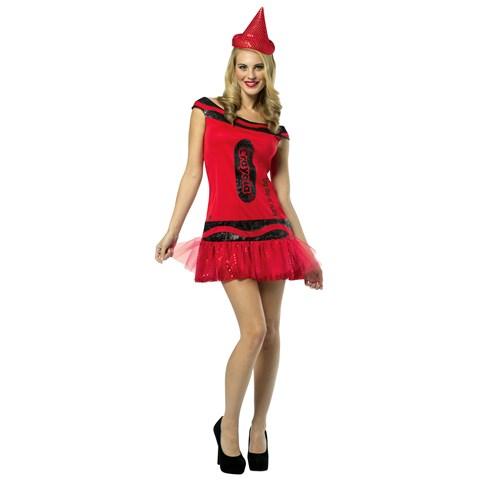 Crayola Big Dip O' Ruby Glitz & Glitter Adult Dress