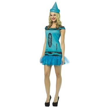 Crayola Steel Blue G&G Dress Adult Costume