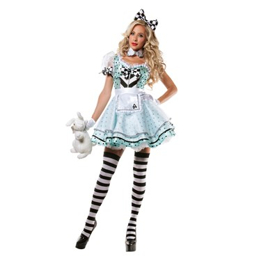Crazy Alice Costume For Women