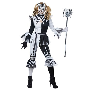 Crazy Jester Deluxe Adult Costume