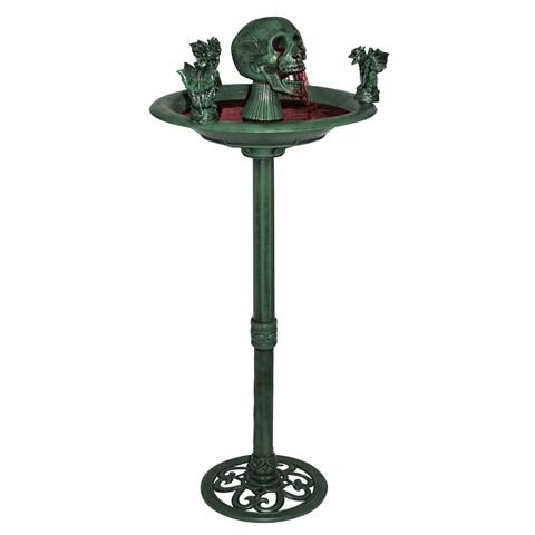 Creepy Gargoyle Fountain