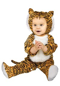 Click Here to buy Cuddly Tiger Baby Costume from BuyCostumes