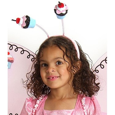 Cupcake Fairy Child Headband