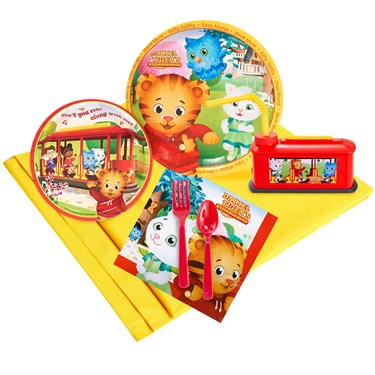 Daniel Tigers Neighborood 16 Guest Party Pack Plus Molded Cups