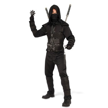 Dark Ninja Adult Costume