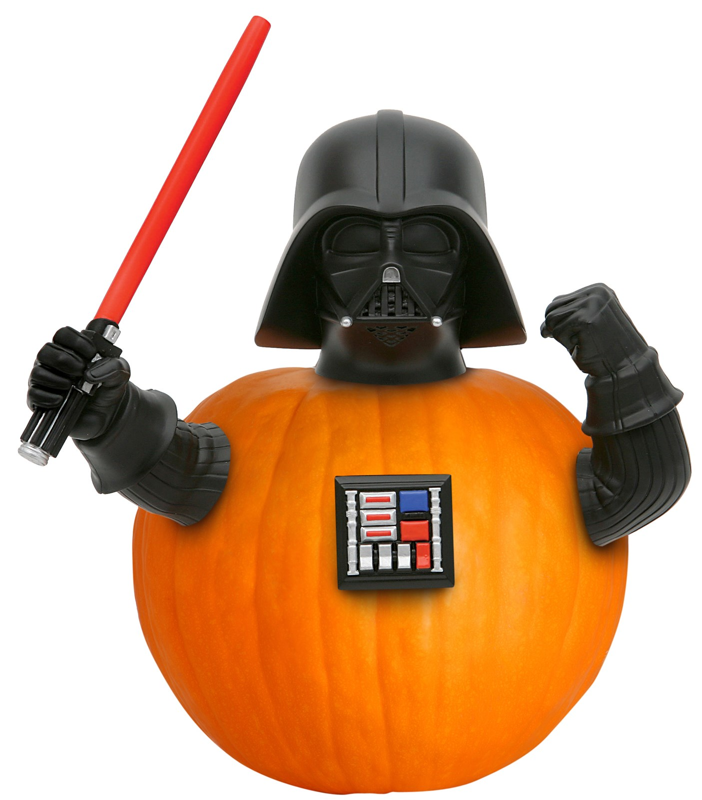 Darth Vader Push-In Pumpkin Decoration