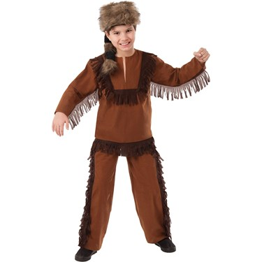 Davey Crockett Child Costume