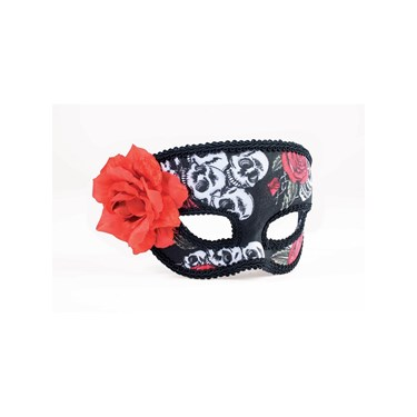 Day Of Dead 1/2 Mask