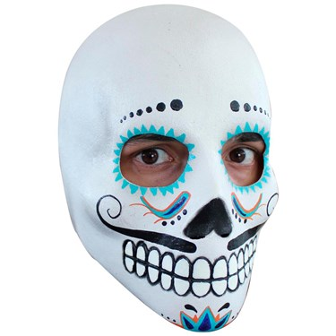 Day Of The Dead Deluxe Mask