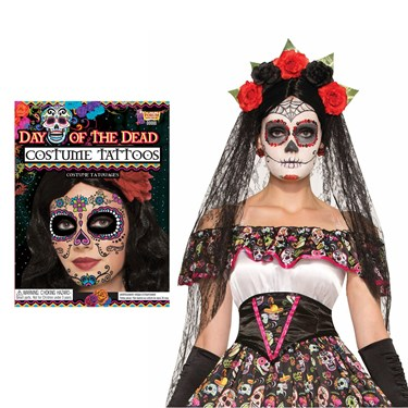 Day of the Dead Female Accessory Kit