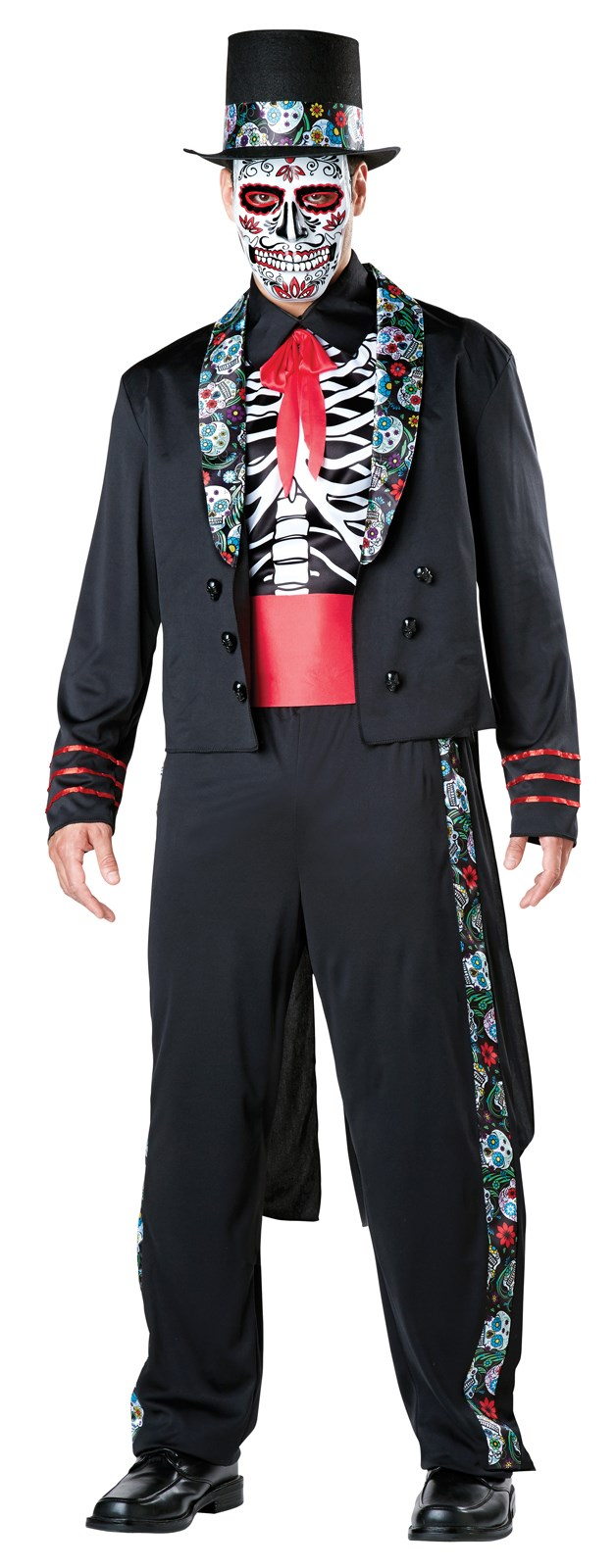 Day of the Dead Senor Costume For Adults