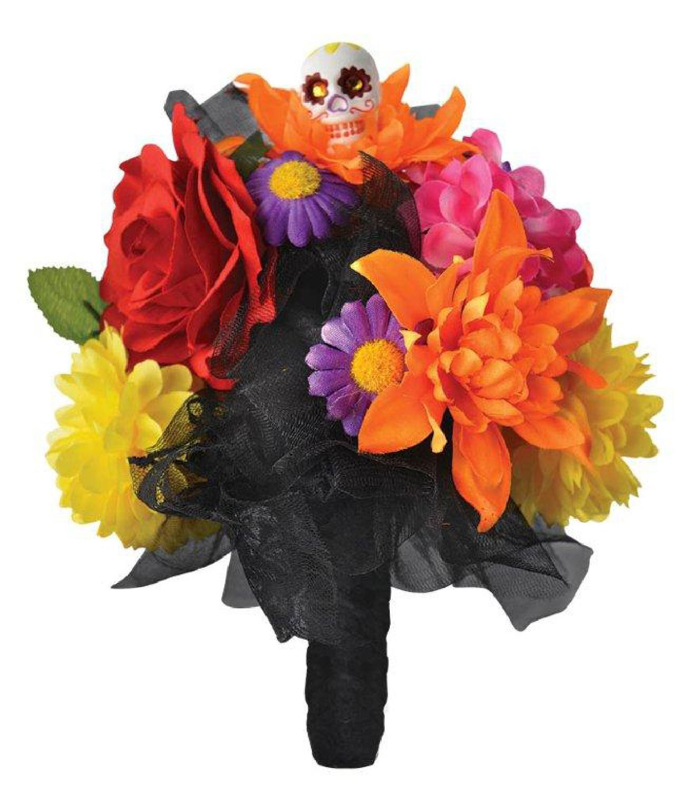 Day Of The Dead Womens Flower Bouquet
