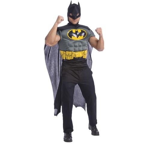 DC Comics Batman Muscle Chest Adult Costume Kit