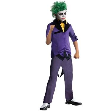 DC Comics Gotham Super Villains Joker Child Costume