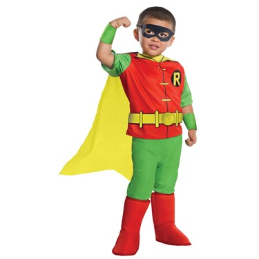 DC Comics - Robin Deluxe Toddler Costume
