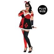 DC Comics - Super Villains Harley Quinn Plus Size Outfit
