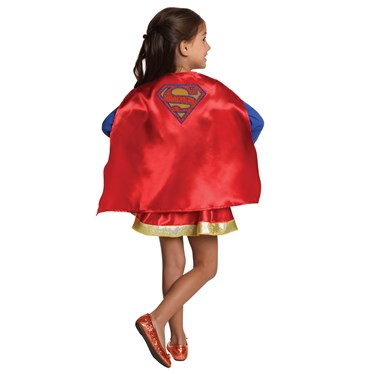 DC Super Hero Girls Supergirl Child Cape and Skirt Set