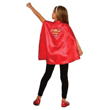 DC Super Hero Girls Supergirl Child Cape Set