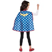 DC Super Hero Girls Wonder Woman Child Cape Set