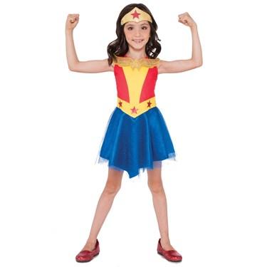 DC Super Hero Girls Wonder Woman Child Tank Dress