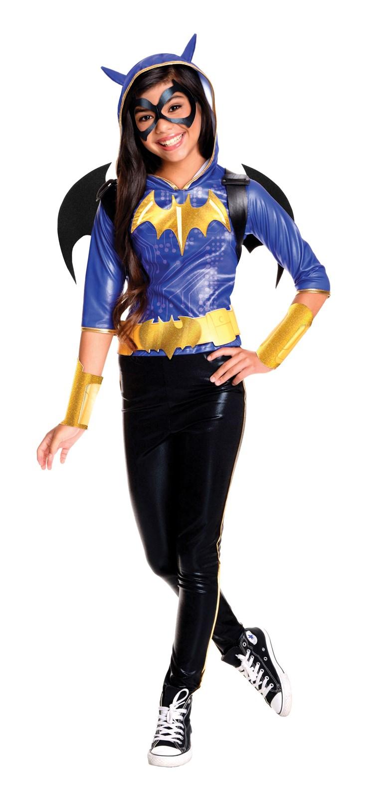 DC Superhero Girls: Batgirl Deluxe Child Costume | BuyCostumes.com