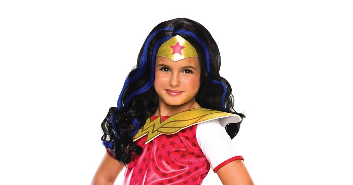 Wonder Woman Child Wig 23