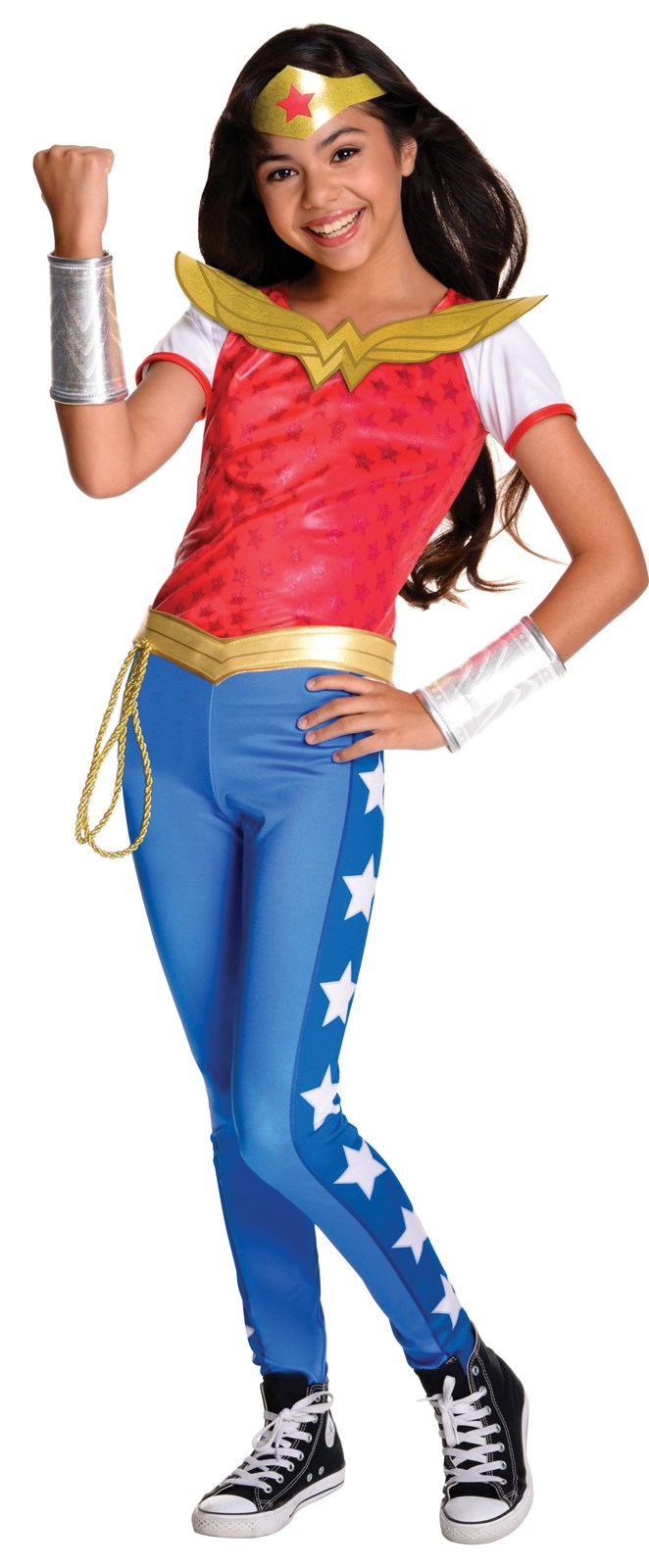 Dc Superhero Girls Wonder Woman Deluxe Child Costume