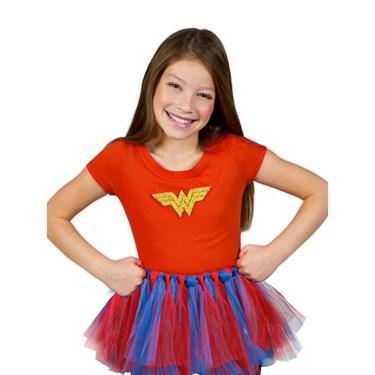 DC Comics - Wonder Woman Superhero Girl's Tutu Kit