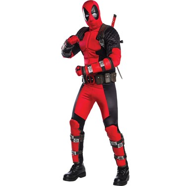 Deadpool Grand Heritage Adult Costume STD