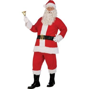 Deluxe Flannel Santa Suit