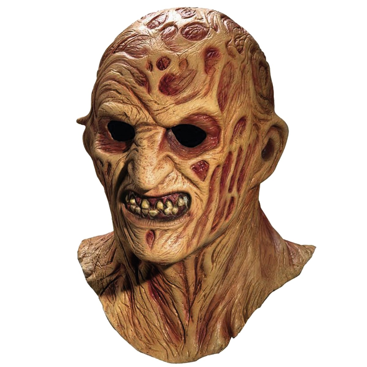 deluxe freddy krueger overhead latex mask buycostumescom - Freddy Krueger Halloween Decorations