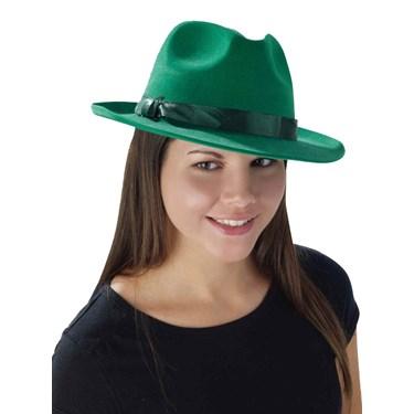 Deluxe Green Fedora