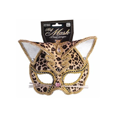 Deluxe Leopard Mask